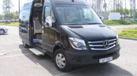 Переделка фургонов в пассажирские микроавтобусы