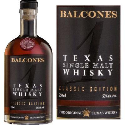 Balcones: ржаной виски
